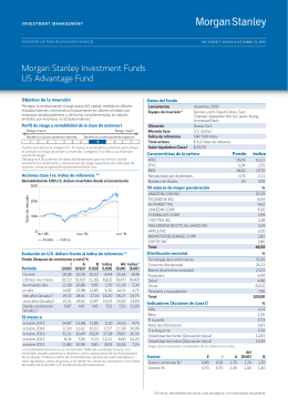 Morgan Stanley Investment Funds US Advantage Fund