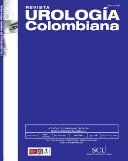 Portada Urologia.cdr - Revista Urológica Colombiana