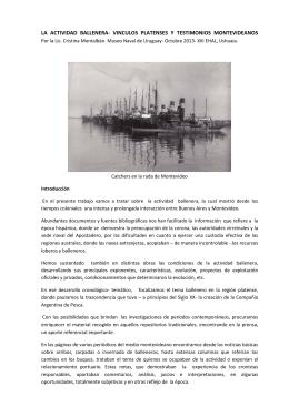 la actividad ballenera - Museo Marítimo de Ushuaia