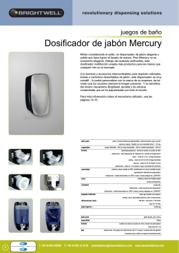 Mercury de Jabón - ctautomatismos.com