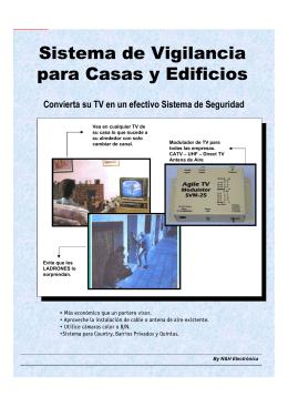 Sistemas de Vigilancia para casas y Edificios