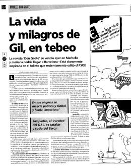 La revista `Don Gilote` se vendía ayer en