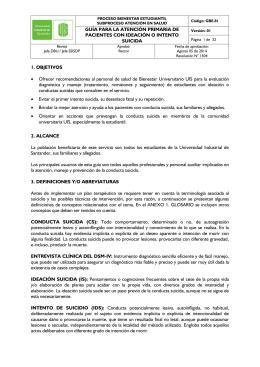 GUÍA PARA LA ATENCIÓN PRIMARIA DE PACIENTES CON
