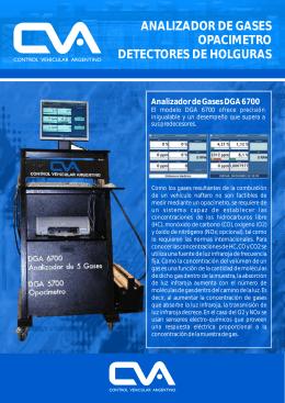 analizador de gases opacimetro detectores de holguras