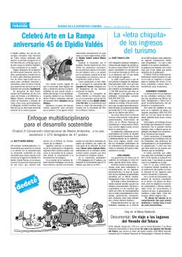Celebró Arte en La Rampa aniversario 45 de Elpidio Valdés