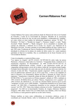 Rábanos Faci 1 - Universidad de Zaragoza