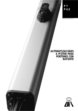 Catálogo Motor Bft (P7)