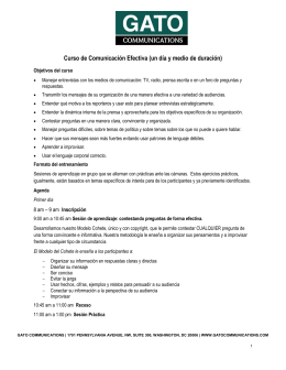 Descargar PDF - Gato Communications