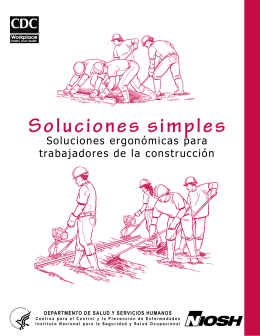 eLCOSH: Soluciones simples: Soluciones ergonómicas para