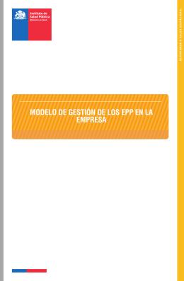 Nota Técnica Nº 020 Modelo de Gestión de los EPP en la Empresa