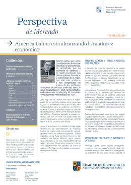 Perspectiva - Edmond de Rothschild
