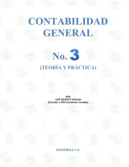 Contabilidad General 3 - Editorial J. Ernesto Molina