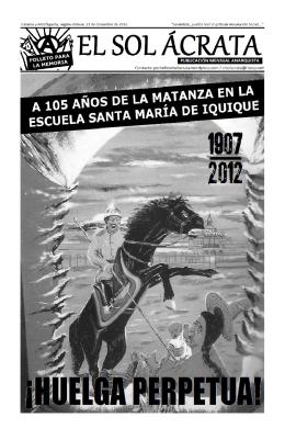 El Sol Ácrata Folleto para la memoria 21 dic 1907-2012