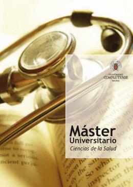 Máster - Universidad Complutense de Madrid