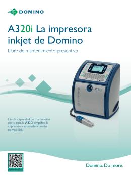 A320i La impresora inkjet de Domino