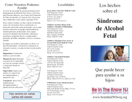 FASD Brochure_Spanish DEC14