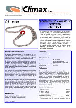 Ficha Técnica, Descargar  - ARPROSA Artículos de Protección