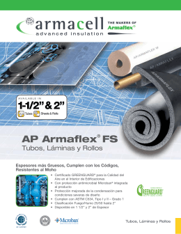 "1-1/2"" & 2"" - Armacell"