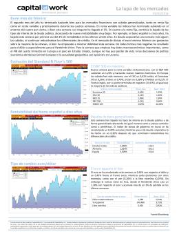La lupa de los mercados