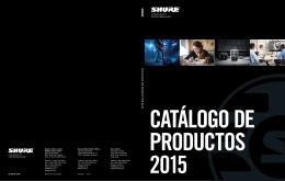 Catálogo de Productos 2015