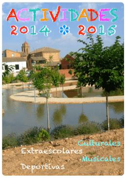 ACTIVIDADES 2014 - 2015