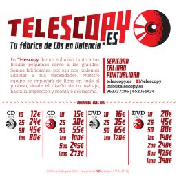 telescopy precios 2015