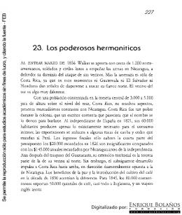 Nicaragua - 23. Los poderosos hermoniticos
