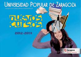 Cursos Universidad Popular 2012-2013