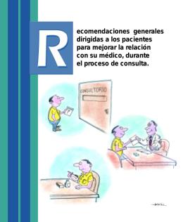Recomendaciones - Hospital General de México