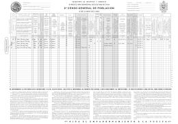 Cuestionario del VIII Censo General de Población 1960