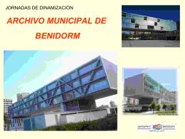 Presentación del archivo municipal de Benidorm