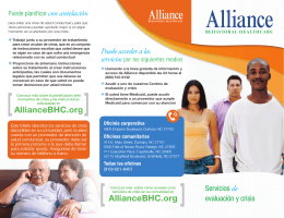 AllianceBHC.org AllianceBHC.org