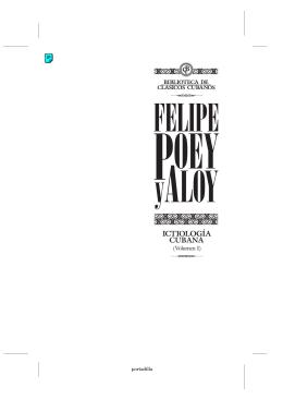 Ictiología Cubana. Volumen I