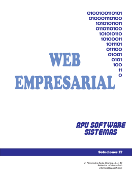 WEB - Apu Software
