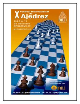 X Gran Torneo Internacional para AFICIONADOS