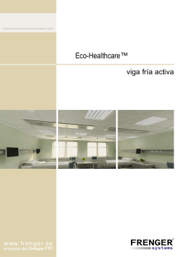 Eco Healthcare™ Folleto de Producto (PDF - 1.0MB)