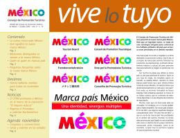 Octubre 2005 - Mexico Tourism Board