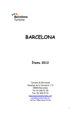 Professionals Turisme de Barcelona