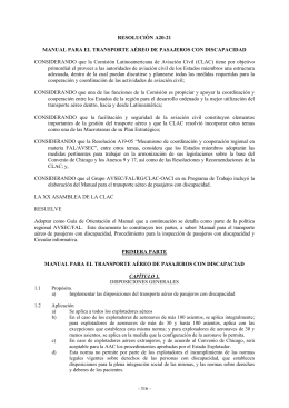 ResA20-21 - Comisión Latinoamericana de Aviación Civil