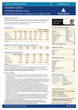 Aberdeen Global - American Equity Fund