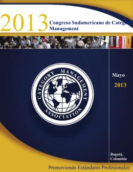 2013 Congreso Sudamericano de Category Management Mayo