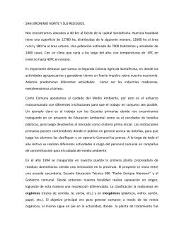 Vogt María Laura - Encargada Planta de Tratamiento. Comuna San