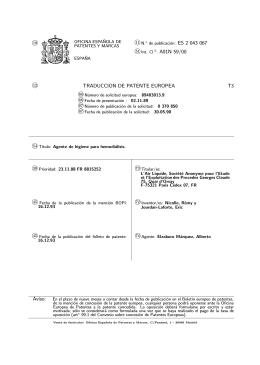 AGENTE DE HIGIENE EN HEMODIALISIS.(ES2043067)