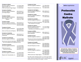 Protección Contra Maltrato