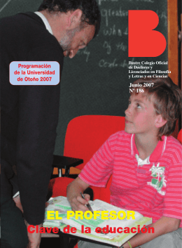 universidad de otoño 2007 - Colegio de Doctores y Licenciados en