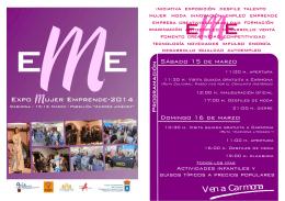 folleto programación EME 2014-1 CARA.pub