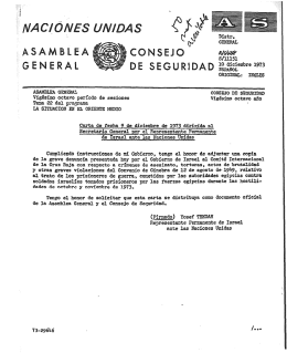10 diciembre 1973 ORIGIRAL: IRGLES Vig6simo octevo periodo de