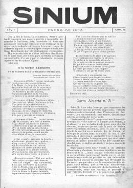 Carta Abierta n.° 3 (I)