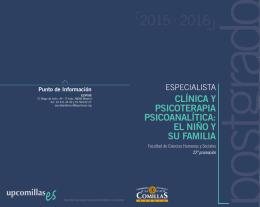 el niño y su familia - Universidad Pontificia Comillas