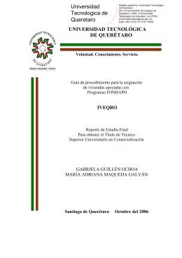 iveqro - Universidad Tecnológica de Querétaro